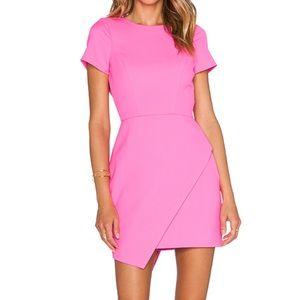 NBD Breathtaking Dress in Neon Pink
